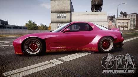 Mazda RX-7 RocketBunny [EPM] para GTA 4 left