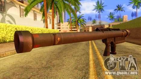Atmosphere Stinger para GTA San Andreas segunda pantalla