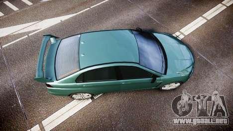 GTA V Karin Kuruma gloss paint para GTA 4 visión correcta
