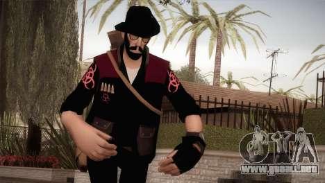 Christian Brutal Sniper from TF2 para GTA San Andreas