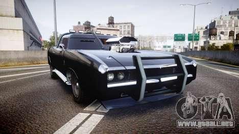 GTA V Imponte Duke O Death [HD Interior] para GTA 4