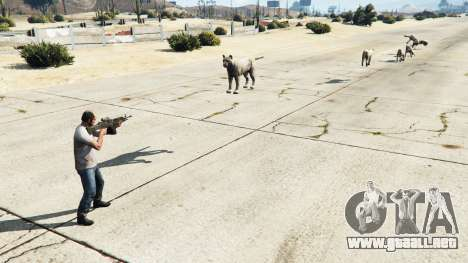 GTA 5 Animal Cannon v1.1 tercera captura de pantalla