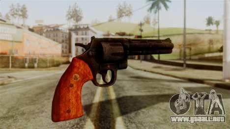Colt Revolver from Silent Hill Downpour v2 para GTA San Andreas segunda pantalla