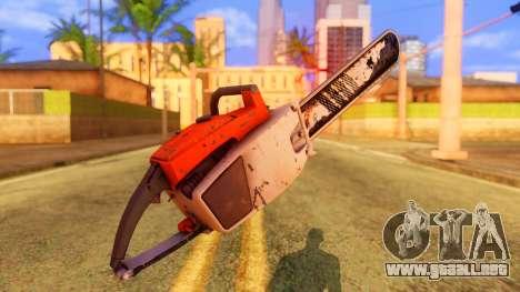 Atmosphere Chainsaw para GTA San Andreas segunda pantalla