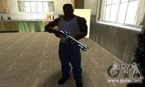 Oval Shotgun para GTA San Andreas tercera pantalla