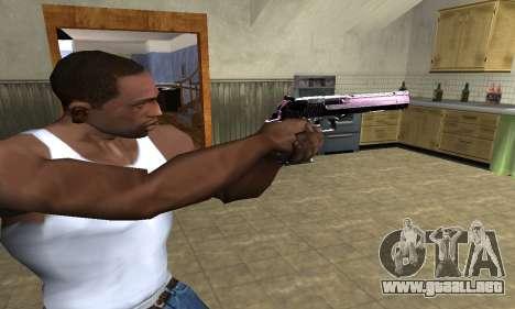 Purple Deagle para GTA San Andreas segunda pantalla