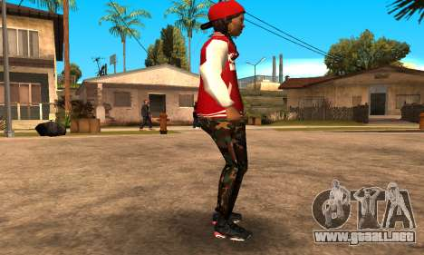 Army Girl para GTA San Andreas segunda pantalla