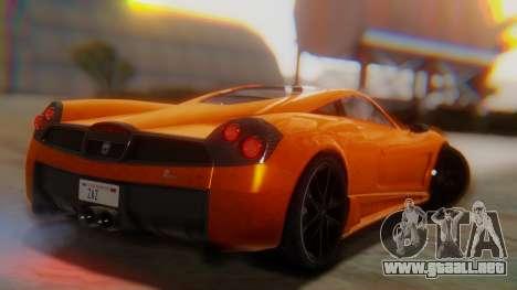GTA 5 Pegassi Osiris SA Style para GTA San Andreas left