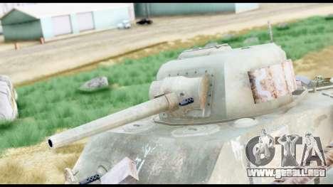 M4 Sherman 75mm Gun Urban para la visión correcta GTA San Andreas