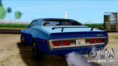 Dodge Charger Super Bee 426 Hemi (WS23) 1971 PJ para GTA San Andreas left
