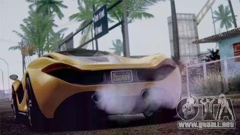 GTA 5 Progen T20 IVF para la visión correcta GTA San Andreas