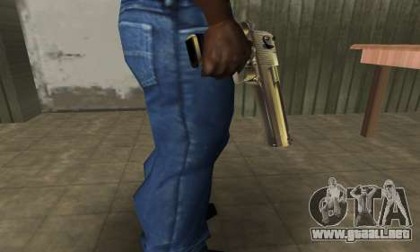 Full of Gold Deagle para GTA San Andreas segunda pantalla