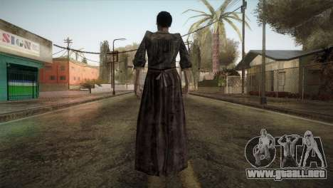 RE4 Maria without Kerchief para GTA San Andreas tercera pantalla