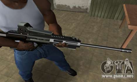 Brown AUG para GTA San Andreas segunda pantalla