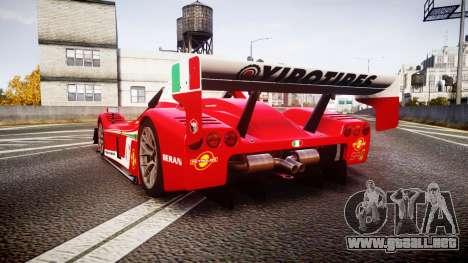 Radical SR8 RX 2011 [6] para GTA 4 Vista posterior izquierda