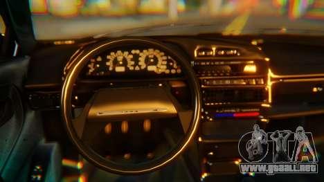 VAZ 2108 Stoke para la visión correcta GTA San Andreas