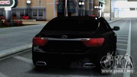 Kia Quoris para la visión correcta GTA San Andreas