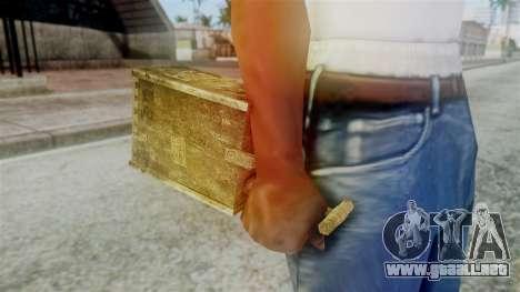 Red Dead Redemption Detonator para GTA San Andreas tercera pantalla