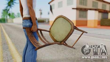 Chair from Silent Hill Downpour para GTA San Andreas tercera pantalla