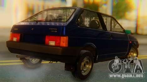 VAZ 2108 Stoke para GTA San Andreas left
