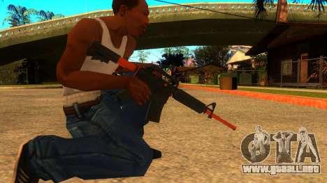 M4A1 Nitro para GTA San Andreas