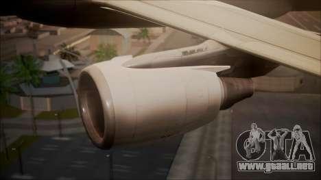 Airbus A320-200 para la visión correcta GTA San Andreas
