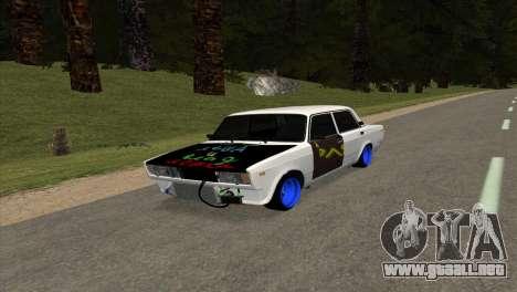 VAZ 2105 AC v1.0 para GTA San Andreas