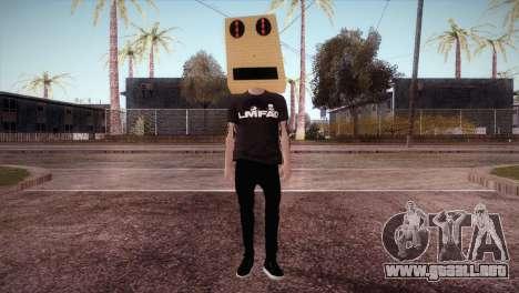 LMFAO Robot para GTA San Andreas segunda pantalla