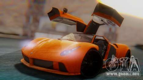 GTA 5 Pegassi Osiris SA Style para GTA San Andreas