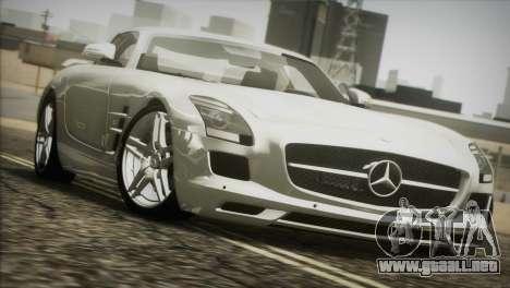 Mercedes-Benz SLS AMG 2013 para visión interna GTA San Andreas