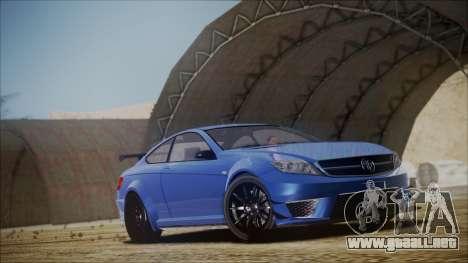 Benefactor Schwartzer Gray Series para la visión correcta GTA San Andreas