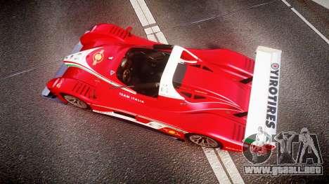 Radical SR8 RX 2011 [6] para GTA 4 visión correcta