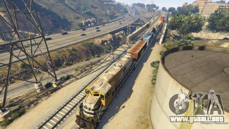GTA 5 Railroad Engineer 3 séptima captura de pantalla