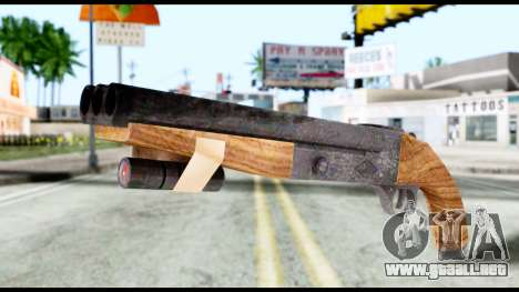 Shotgun from Resident Evil 6 para GTA San Andreas