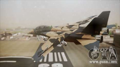 F-14D AC6 Halloween para GTA San Andreas left