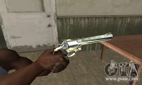 Revolver para GTA San Andreas segunda pantalla
