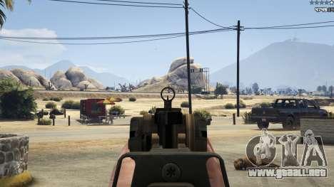 GTA 5 Battlefield 4 CZ805 séptima captura de pantalla