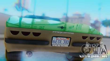 Invetero Coquette BlackFin v2 GTA 5 Plate para visión interna GTA San Andreas