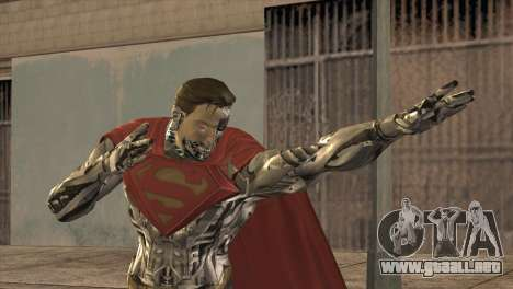 Superman Cyborg v2 para GTA San Andreas