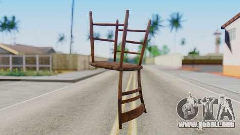 Chair from Silent Hill Downpour para GTA San Andreas segunda pantalla