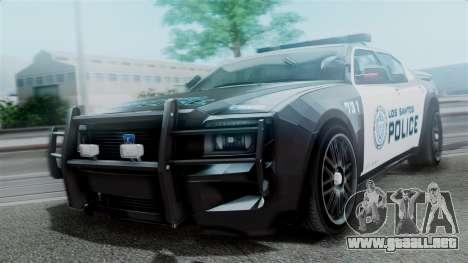 Hunter Citizen Police LS IVF para GTA San Andreas