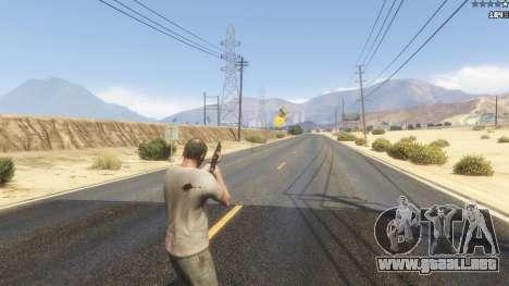 GTA 5 Powerful Shotguns [.NET] 0.2 quinta captura de pantalla