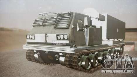 Hellenic Army M270 MLRS para la visión correcta GTA San Andreas