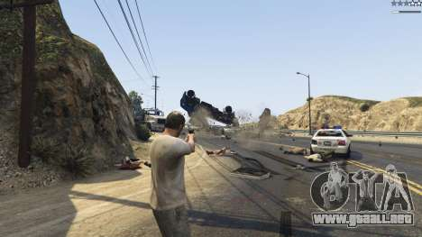 GTA 5 Gravity Gun 1.5 tercera captura de pantalla