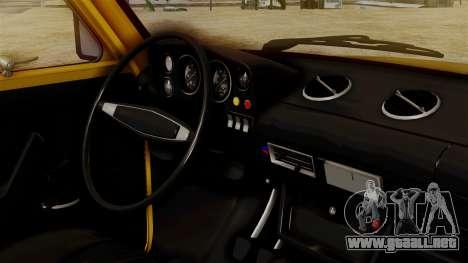 VAZ 2121 Niva para GTA San Andreas vista posterior izquierda