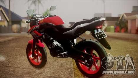 Honda CB150R Streetfire para GTA San Andreas left