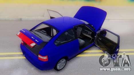 VAZ 2112 para vista lateral GTA San Andreas