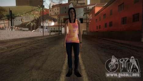 Alara Model Girl para GTA San Andreas segunda pantalla