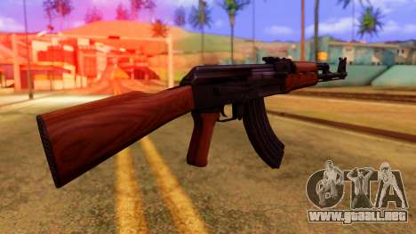 Atmosphere AK47 para GTA San Andreas segunda pantalla