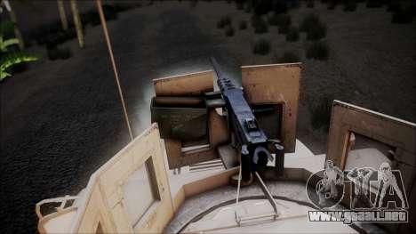 HMMWV Croatian Army ISAF Contigent para la visión correcta GTA San Andreas